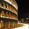 Photo: Colosseum at night