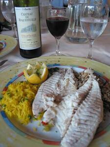 Photo tasty fish - Le transat antibes ...