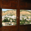 Photo: Granada through windows