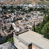 Photo: Looking down on Granada