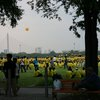 Photo: Crowd in yellow