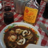 Photo: Spicy soup, Thai whiskey