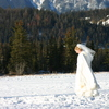 Photo: Skating bride