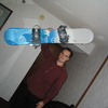 Photo: Ger with new board