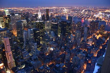 Photo: Manhattan from above  Manhattan