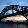 Photo: Harbour Bridge at dusk