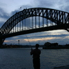 Photo: Fisherman and Harbour Bridge