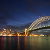 Photo: Harbour Bridge and downtown
