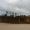 Photo: Maheno shipwreck