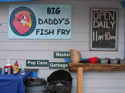 Photo big daddy 39 s fish fry for Fish daddy s menu