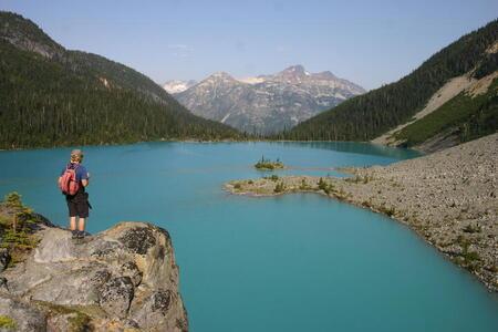 Photo Upper Joffre Lake
