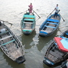 Photo: Boat taxis