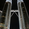 Photo: Petronas Twin Towers at night