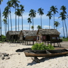 Photo: Sea gypsy huts