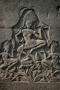 Photo: Dancing apsaras