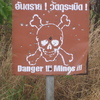 Photo: Danger!!! Mines!!! sign