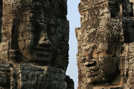 Photo: Face-towers