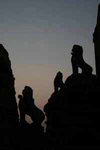 Photo: Lion statues