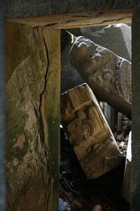 Photo: Fallen masonry