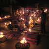 Photo: Candlelit night market