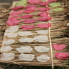 Photo: Rice paper drying