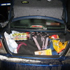Photo: Trunk full of gear