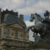 Photo: Statue and Louvre