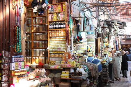 Photo: Apothecary stalls