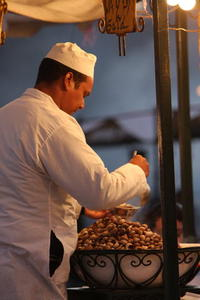 Photo: Snail soup seller