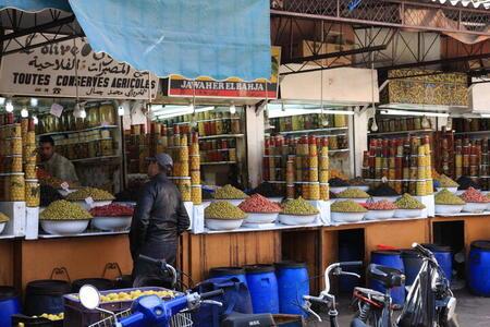 Photo: Olive shops