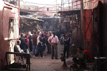 Photo: Souk Addadine (metalwork market)