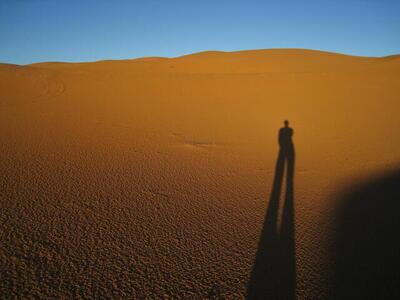 Photo: Long shadow