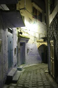 Photo: Chefchaouen at night