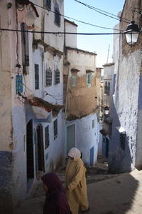 Photo: Steep street
