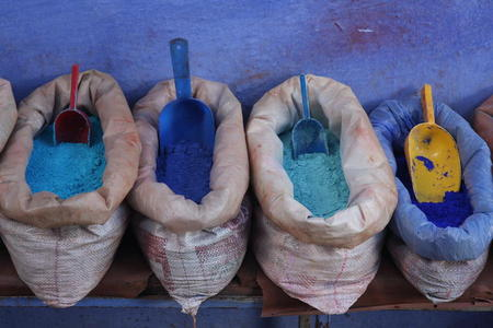 Photo: Colorful powders
