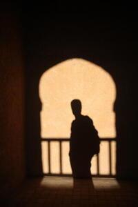 Photo: Kasbah shadow